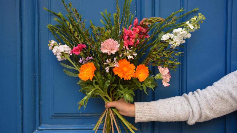 Fleurivore, des bouquets de fleurs comestibles
