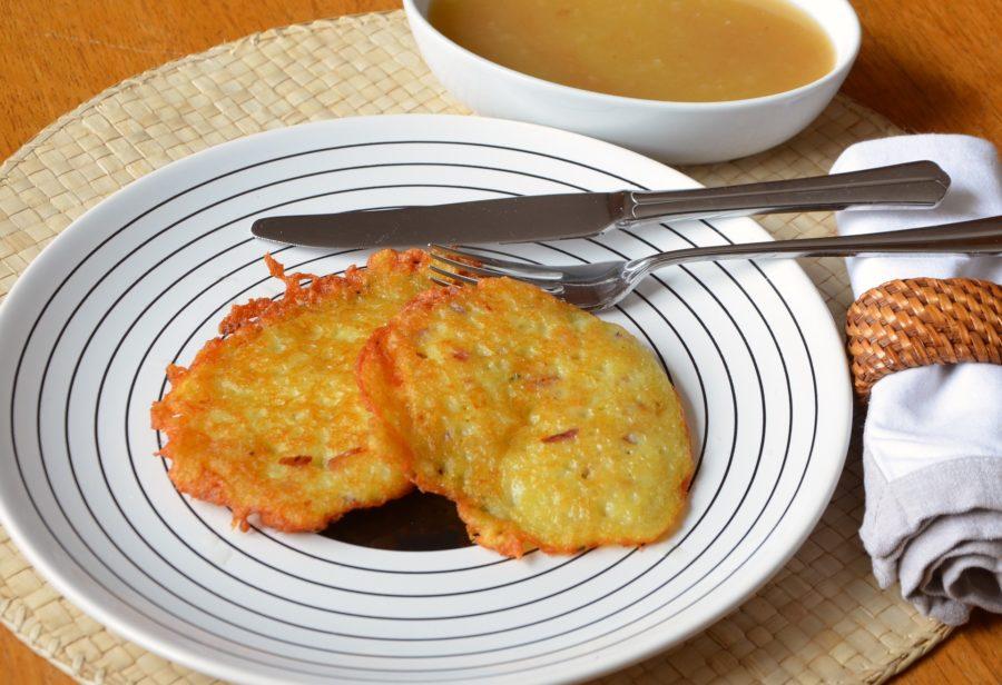 Des galettes de pommes de terre ou Grùmbèrrekììschle