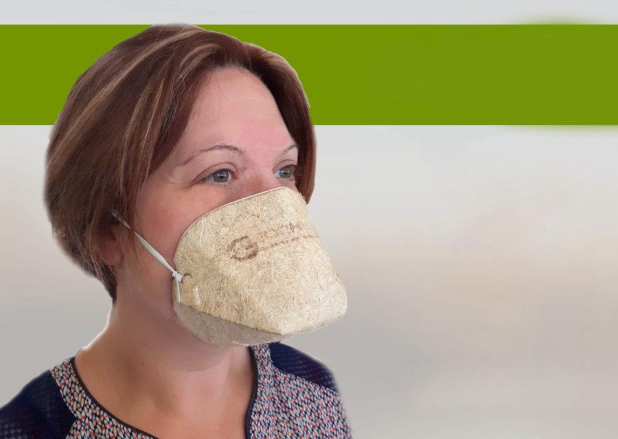 Géochanvre, le 1er masque écologique
