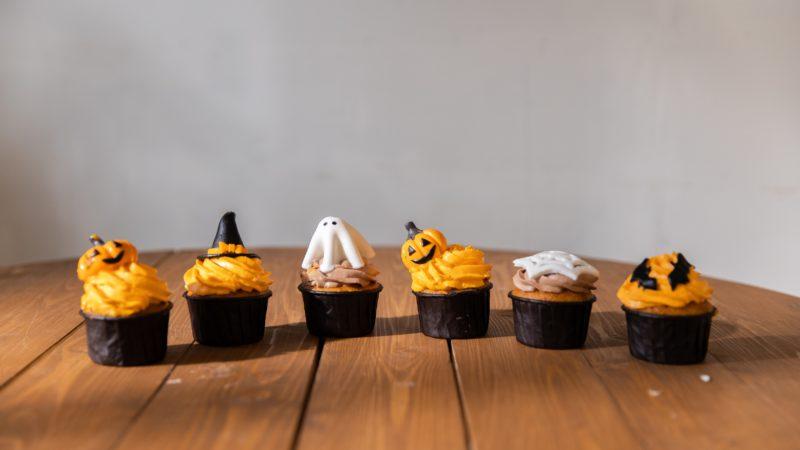 Brrrrrr, des cupcakes au Potiron pour Halloween