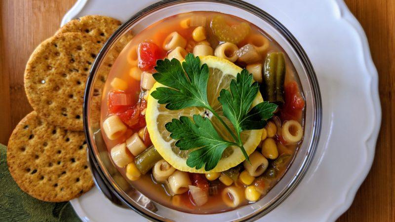 Le potage minestrone