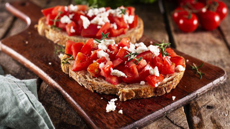 Bruschetta & bruschette : un apéritif à l'italienne