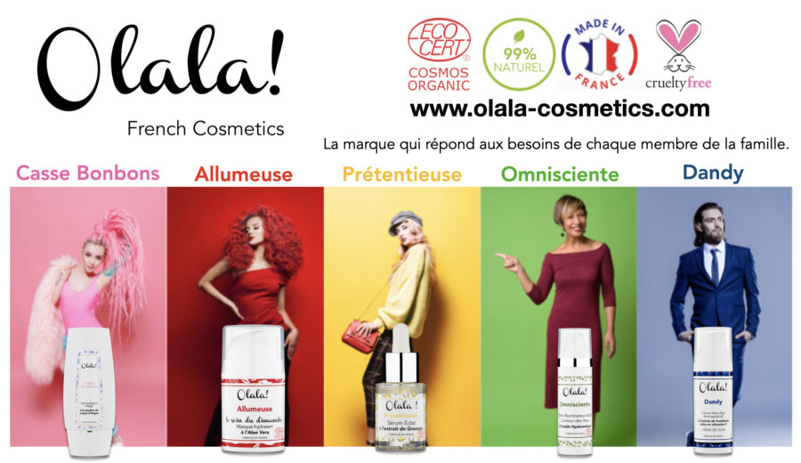 Olala! French Cosmetics, une marque qui casse les codes