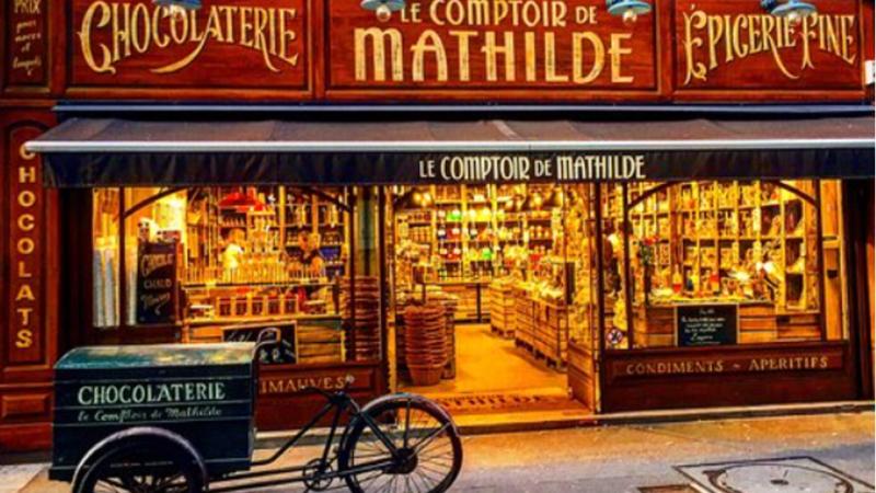 Le comptoir de Mathilde, un petit coin de paradis