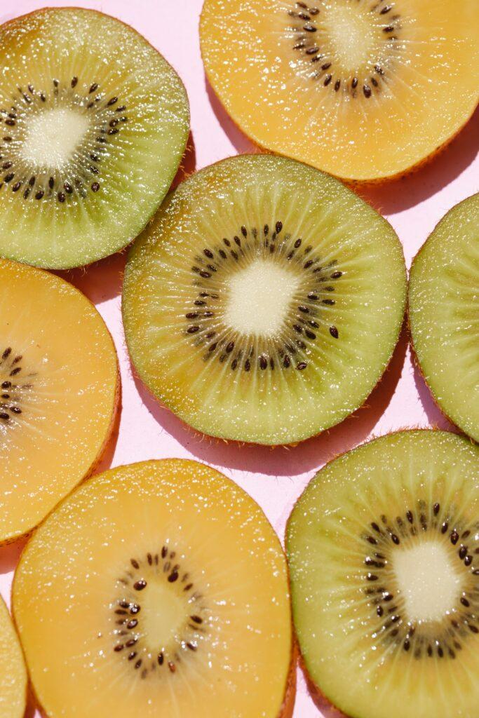 ananas kiwi fruits recette