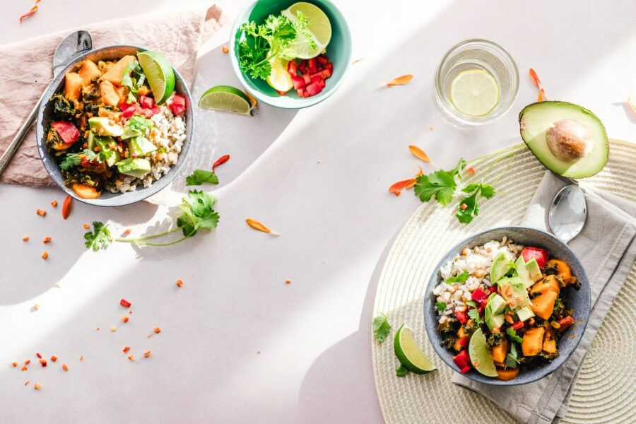 Salade hawaïenne à l'ananas et au kiwi