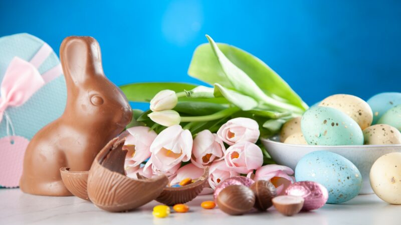 Des chocolats de Pâques faits maison