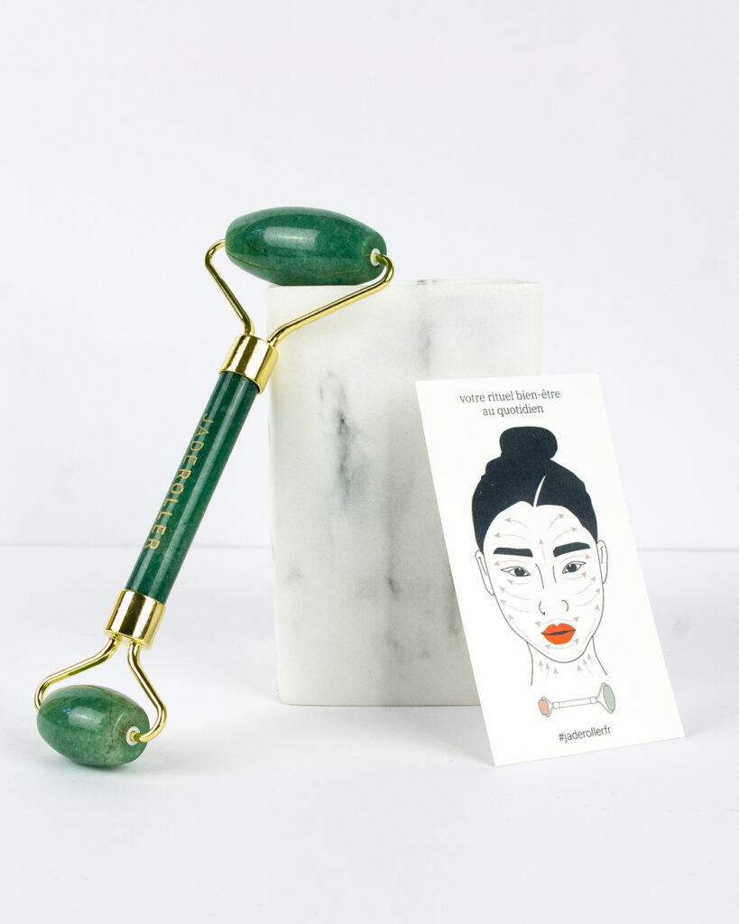jade roller cosmétique